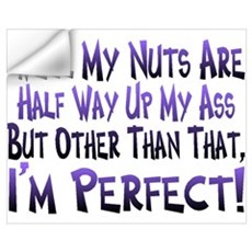 Nutty Ass Wall Decal