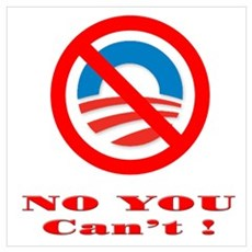 No you Can't ! Poster