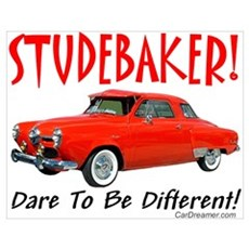 Studebaker-Dare to be Diff Poster