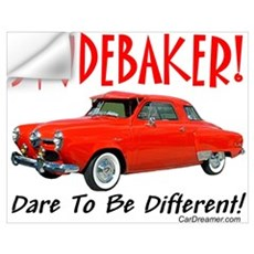 Studebaker-Dare to be Diff Wall Decal