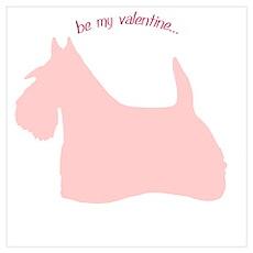 Scottie... Be My Valentine Poster