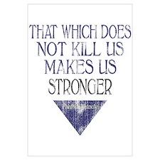Nietzsche Quote Distressed