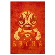 Vintage Lucha Poster