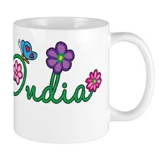 India Flowers Mug