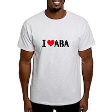 I Heart ABA T-Shirt