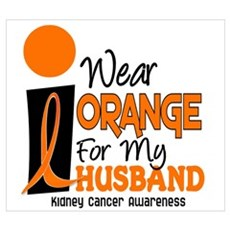 I Wear Orange For My Husband 9 KC ri Canvas Art