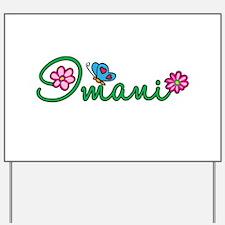 Imani Flowers Yard Sign