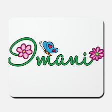 Imani Flowers Mousepad