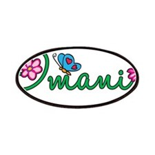 Imani Flowers Patches