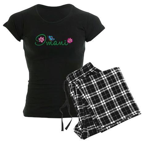 Imani Flowers Women's Dark Pajamas