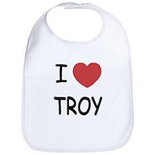 I heart Troy Bib
