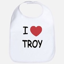 I heart Troy Bib