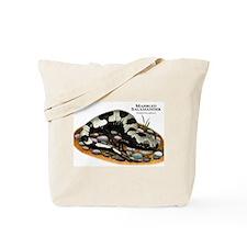 Marbled Salamander Tote Bag