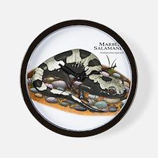 Marbled Salamander Wall Clock