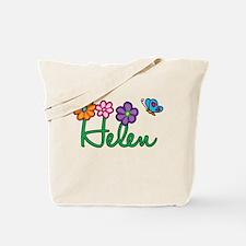 Helen Flowers Tote Bag