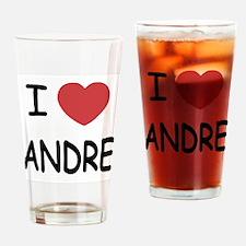 I heart Andre Drinking Glass