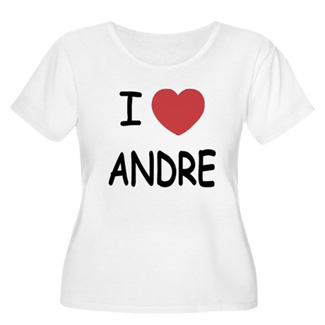 I heart Andre Women's Plus Size Scoop Neck T-Shirt