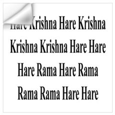 HARE KRISHNA MANTRA Wall Decal