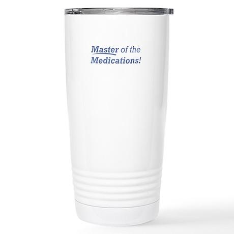 Medications / Master Stainless Steel Travel Mug