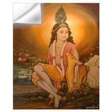 Krishna Ji Wall Decal