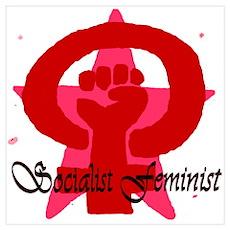 Socialist Feminist Poster