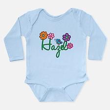 Hazel Flowers Long Sleeve Infant Bodysuit