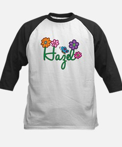 Hazel Flowers Kids Baseball Jersey