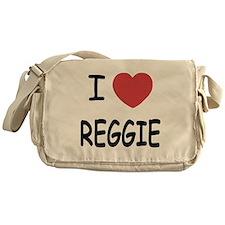 I heart Reggie Messenger Bag