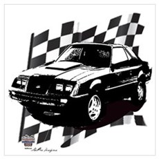 Mustang 1983 - 1984 Poster