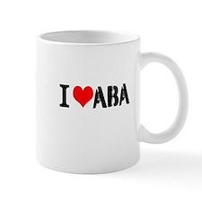 I Heart ABA Mug