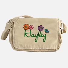 Hayley Flowers Messenger Bag