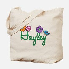Hayley Flowers Tote Bag