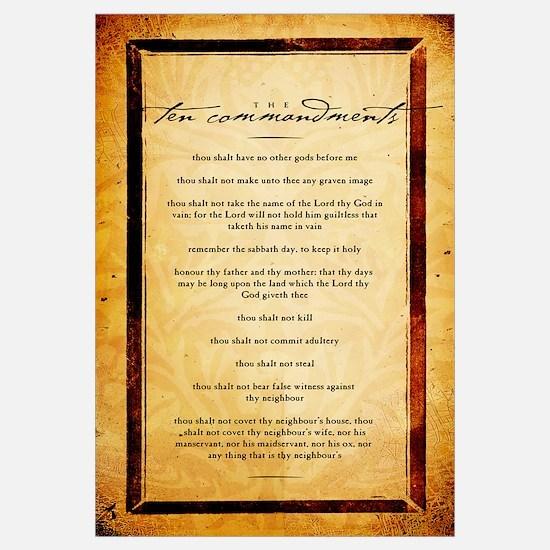 The Ten Commandments Artwork
