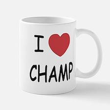 I heart Champ Small Small Mug