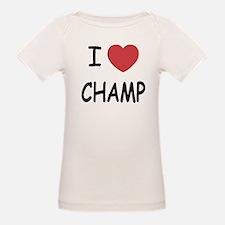 I heart Champ Tee