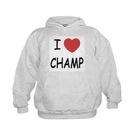 I heart Champ Kids Hoodie