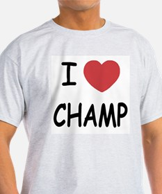 I heart Champ T-Shirt