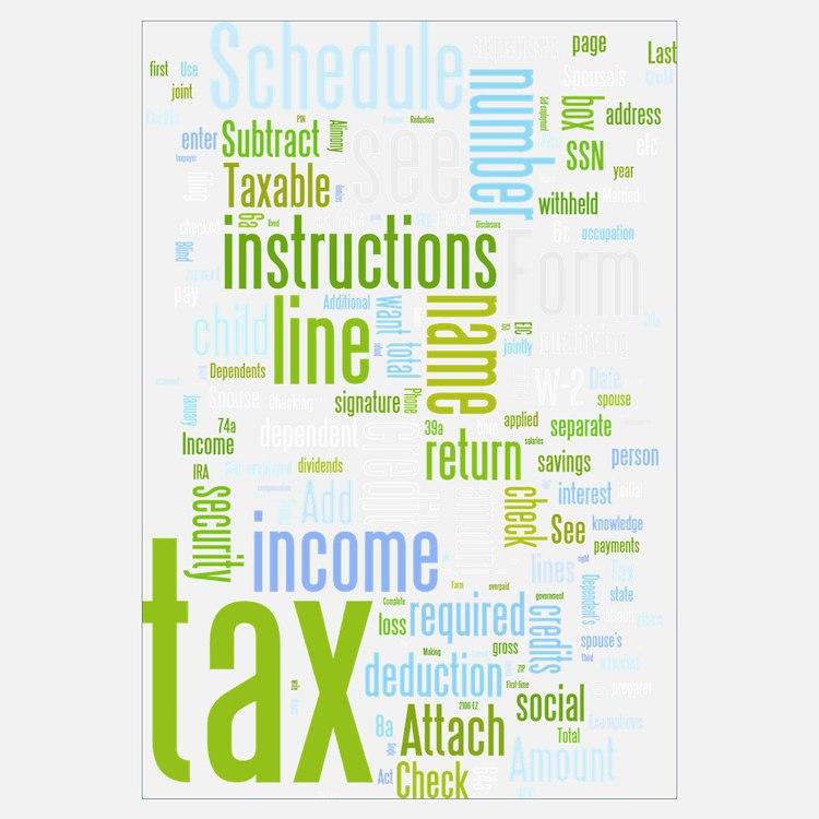 Cute Tax Wall Art