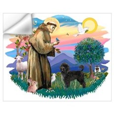 St Francis #2 / PWD (stand) Wall Decal