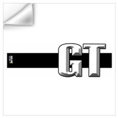 GT Black Wall Decal