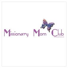MISSIONARY MOM CLUB Poster