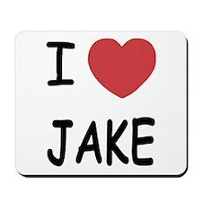 I heart Jake Mousepad