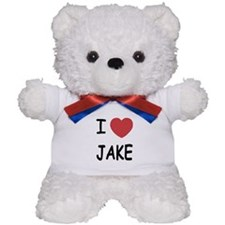 I heart Jake Teddy Bear