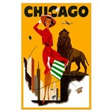 Vintage chicago Posters