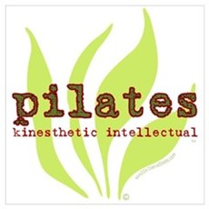 Pilates Kinesthetic Intellectual Poster
