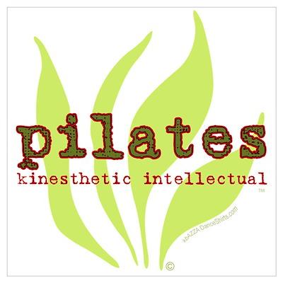 Pilates Kinesthetic Intellectual Poster
