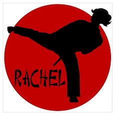 Rachel Karate Poster