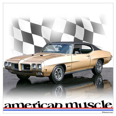 GTO Muscle Poster