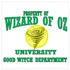 Property of Good Witch Dept Poster