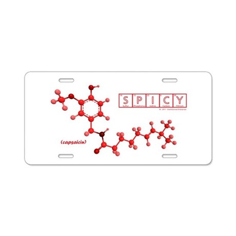 The Capsaicin Collection Aluminum License Plate